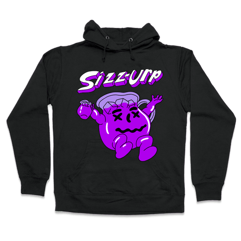 Sizz-urp Man Hooded Sweatshirt