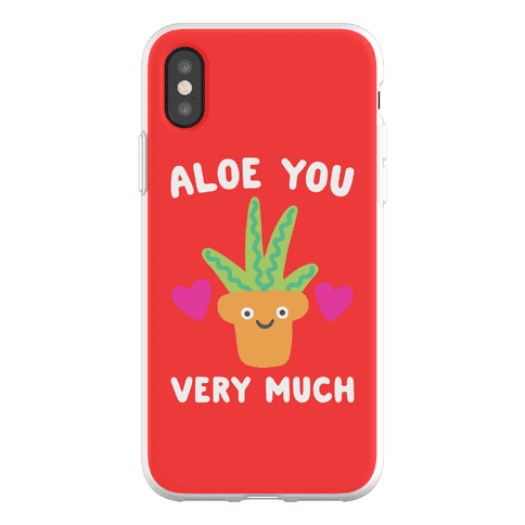 Aloe You Very Much Phone Flexi-Case
