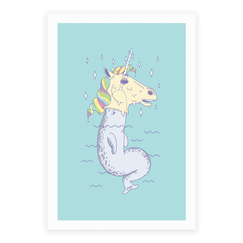 Unicorn Impostor Poster