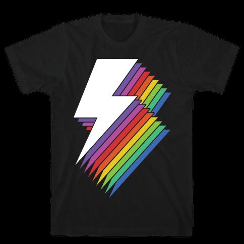 Lightning Mens T-Shirt