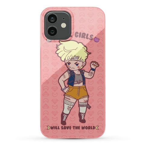 Rebel Girls Will Save The World Uranus Parody Phone Case