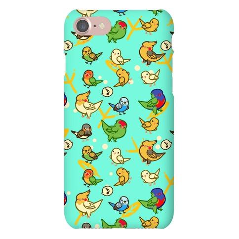 Bird Lover Pattern Phone Case