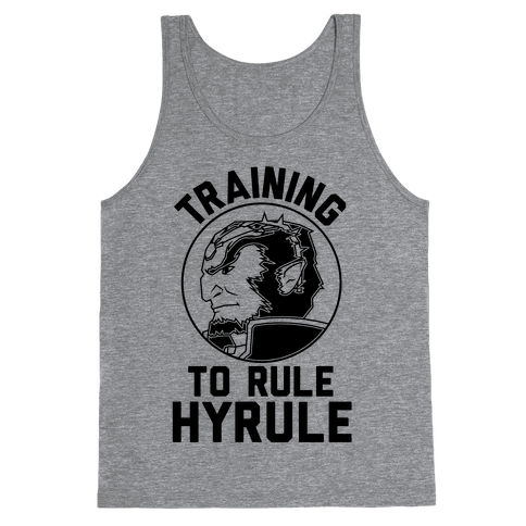 Training To Rule Hyrule Tank Top