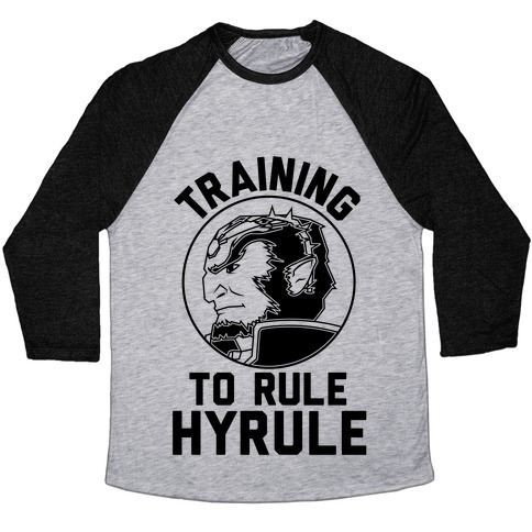 Training To Rule Hyrule Baseball Tee