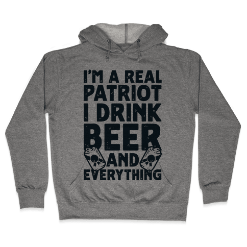 Real Patriot  Hooded Sweatshirt