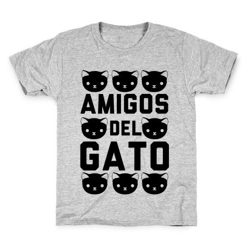 Amigos Del Gato Kids T-Shirt