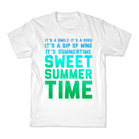Sweet Summertime Kids T-Shirt