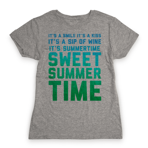 Sweet Summertime Womens T-Shirt