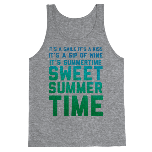 Sweet Summertime Tank Top