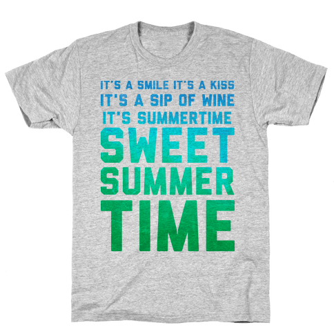 Sweet Summertime Mens T-Shirt