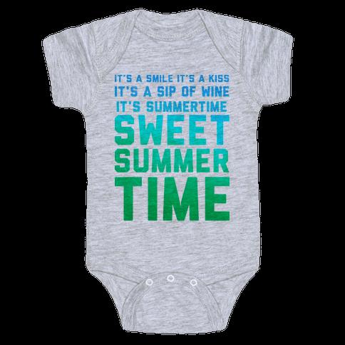 Sweet Summertime Baby Onesy