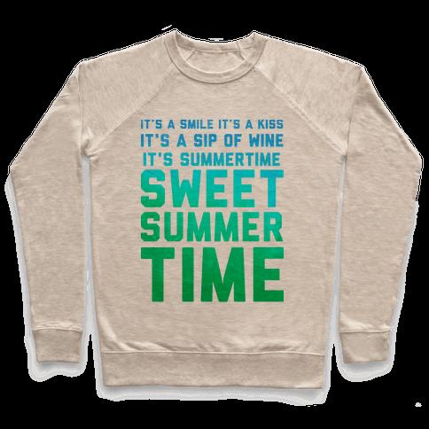Sweet Summertime Pullover