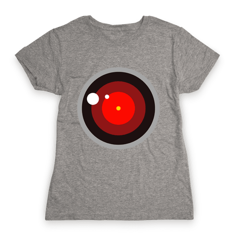Evil Robot Womens T-Shirt