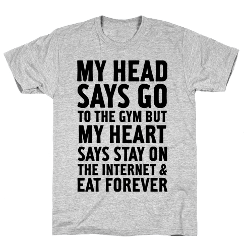 Stay on the Internet Mens T-Shirt