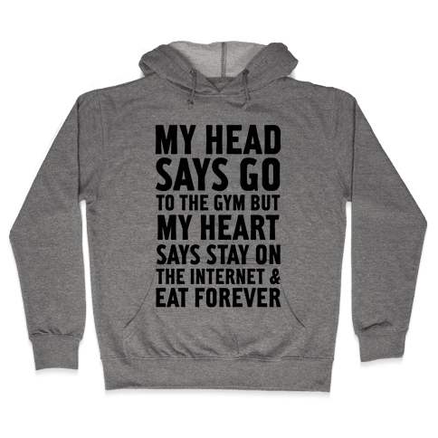 Stay on the Internet Hooded Sweatshirt