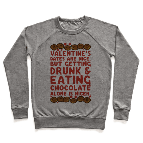 Valentines Dates And Chocolate Pullover