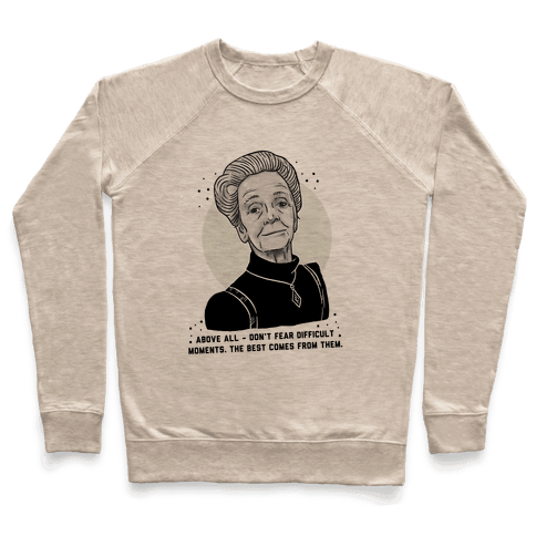 Do Not Fear Difficult Moments With Rita Levi-Montalcini Pullover