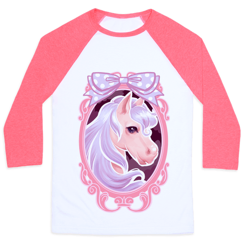 Pastel Magic Pony Baseball Tee