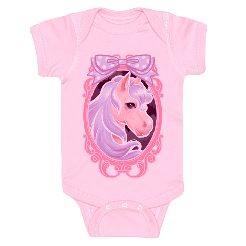 Pastel Magic Pony Baby Onesy