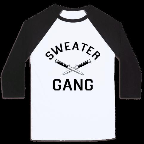 Sweater Gang Baseball Tee