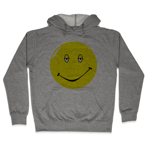 Dazed and Confused Stoner Smiley Face Hooded Sweatshirt