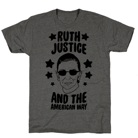 Ruth, Justice, And The American Way Mens T-Shirt