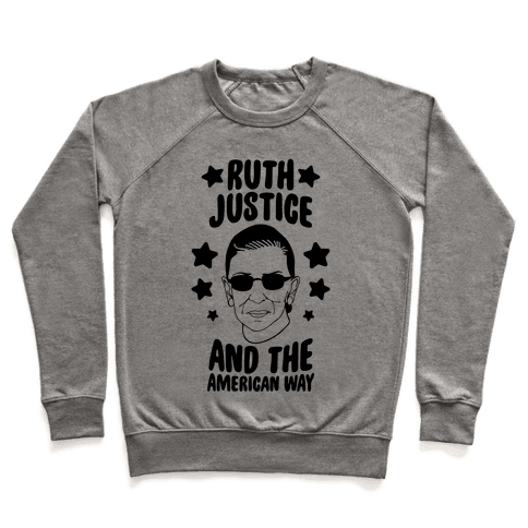 Ruth, Justice, And The American Way Pullover
