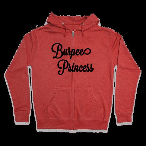 Burpee Princess Zip Hoodie