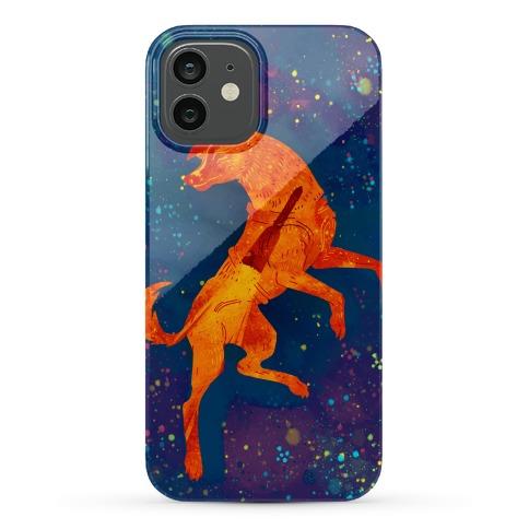 Astronaut Dog Laika Phone Case