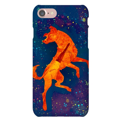Astronaut Dog Laika Phone Case