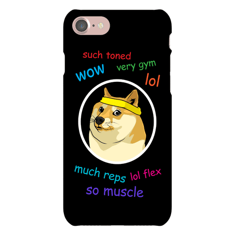 Doge Fitness Phone Case