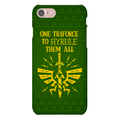 One Triforce To Hyrule Them All Phone Case