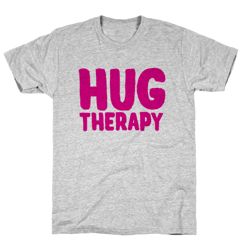 Hug Therapy Mens T-Shirt