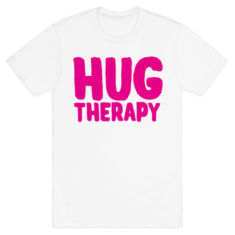 Hug Therapy Mens T-Shirt