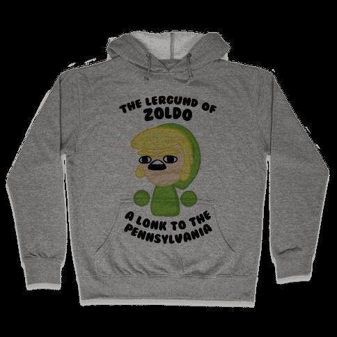 The Lergund Of Zoldo: A Lonk To The Pennsylvania Hooded Sweatshirt