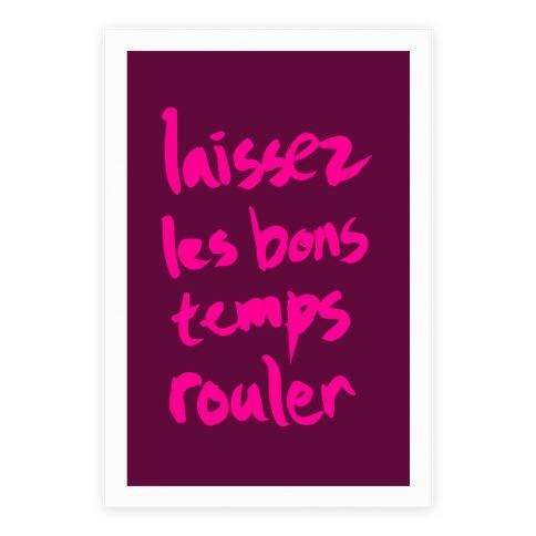 Laissez Les Bons Temps Rouler Poster