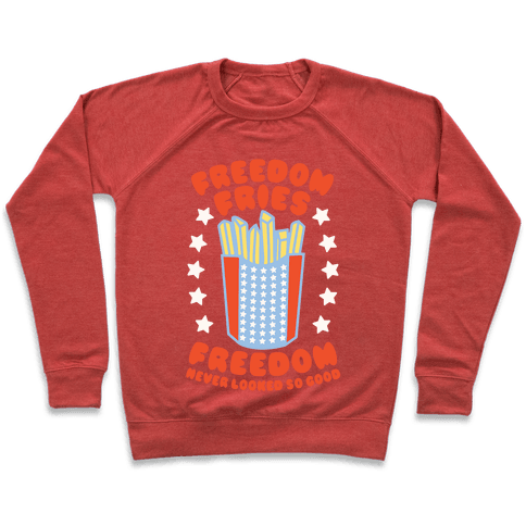 Freedom Fries Pullover
