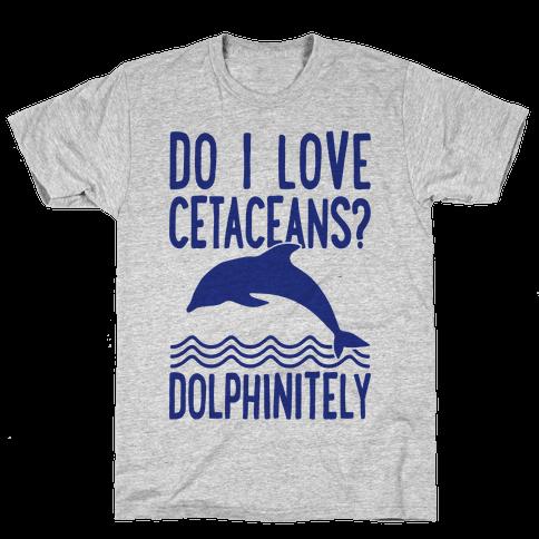 Dolphinitely Mens T-Shirt