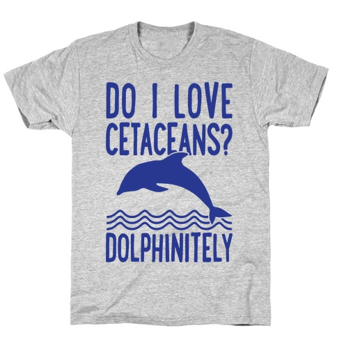 Dolphinitely Mens T-Shirt