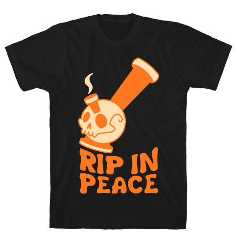 Rip In Peace Mens T-Shirt