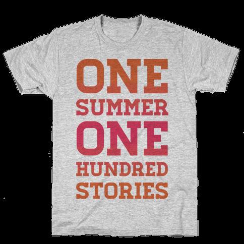 One Summer One Hundred Stories Mens T-Shirt