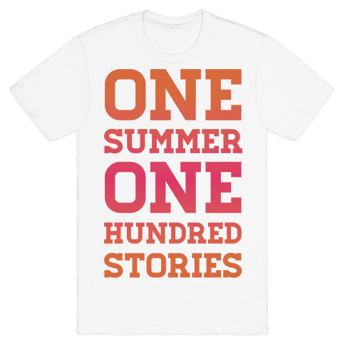 One Summer One Hundred Stories Mens T-Shirt