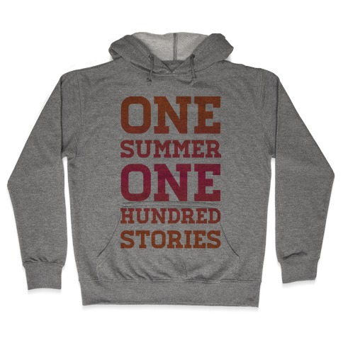 One Summer One Hundred Stories Hooded Sweatshirt