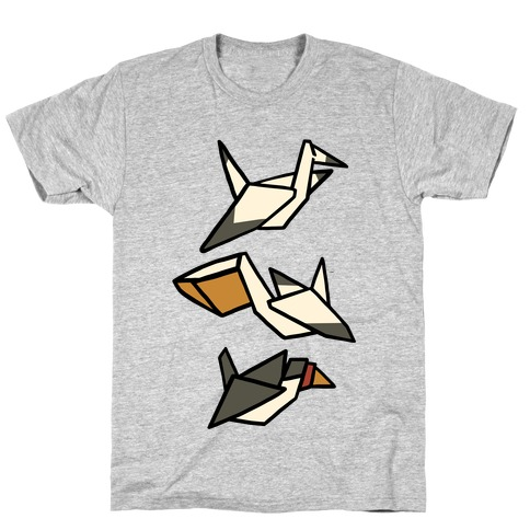 Nautical Origami Seabirds T-Shirt