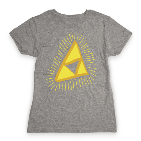 The Triforce Womens T-Shirt