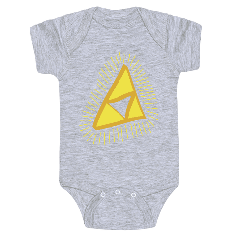 The Triforce Baby Onesy