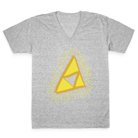 The Triforce V-Neck Tee Shirt