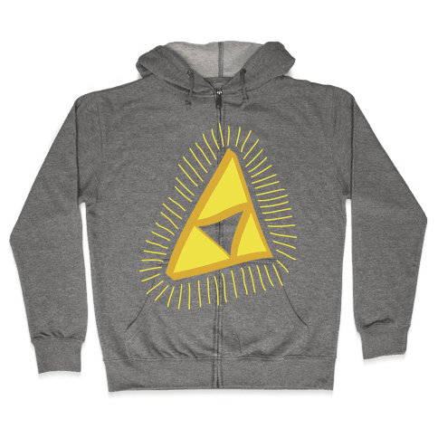 The Triforce Zip Hoodie