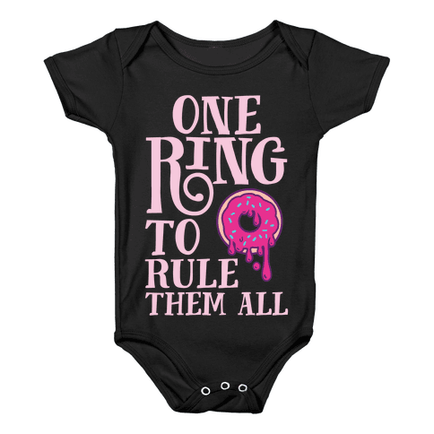 One Ring To Rule Them All Baby Onesy