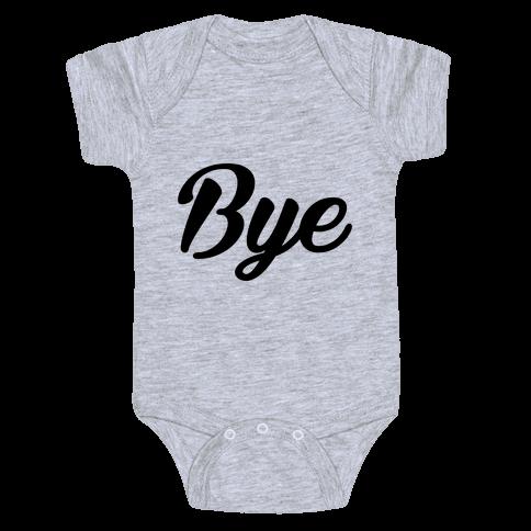 Bye Baby Onesy